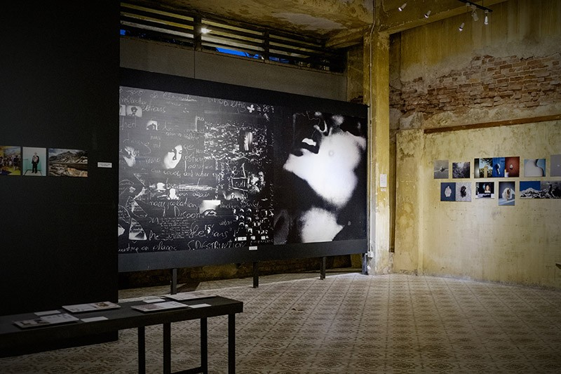 Installation view - Obscura Festival of Photography